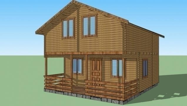 Casa de vacanta din lemn Corund izolat de la Korondi Arcso Srl