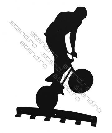 Cuier metalic Bicicleta - 4198 de la Rolix Impex Series Srl