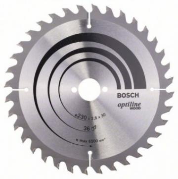 Disc Optiline Wood 230x30, 36 GKS 85