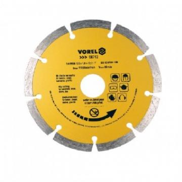 Disc diamantat cu segmente 125mm, Vorel 08712 de la Viva Metal Decor Srl