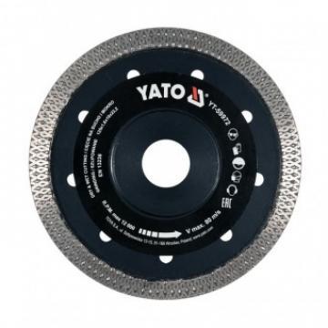Disc diamantat pentru gresie Yato YT-59972, 125x1.6mm