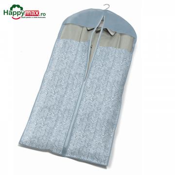 Husa lunga protectie haine pe umerase-Tweed 60x137cm de la Plasma Trade Srl (happymax.ro)