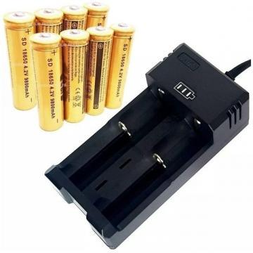 Incarcator pentru 2 acumulatori sau baterii reincarcabile