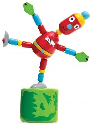 Jucarie lemn - robot de la Plasma Trade Srl (happymax.ro)