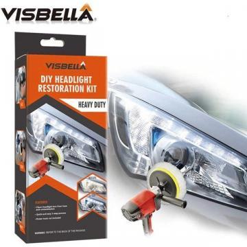 Kit auto Visbella complet pentru restaurare polisare faruri de la Www.oferteshop.ro - Cadouri Online