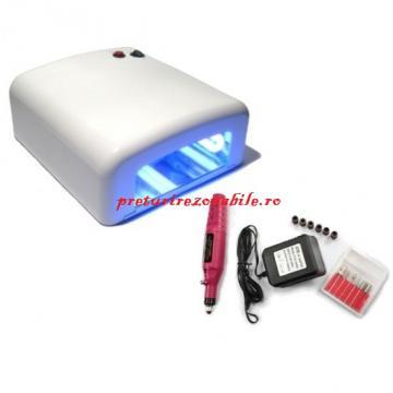 Kit lampa UV + pila electrica