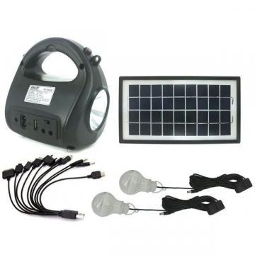 Kit sistem solar cu stick USB si card de memorie GDLite de la Www.oferteshop.ro - Cadouri Online