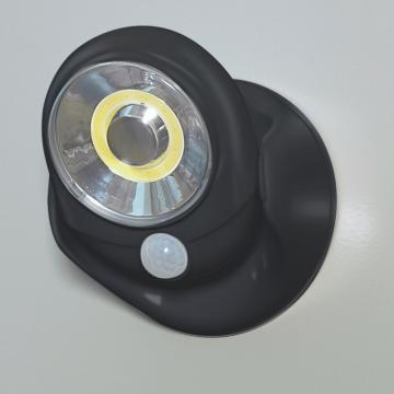 Lampa leduri COB cu senzor de miscare negru de la Plasma Trade Srl (happymax.ro)