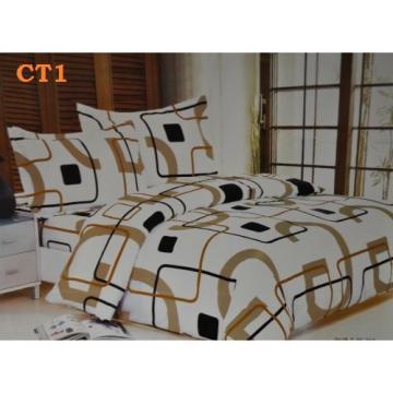 Lenjerie de pat creponata din 4 piese de la Preturi Rezonabile