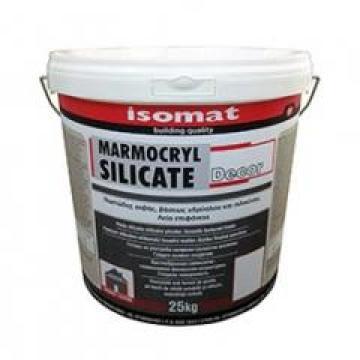 Tencuiala acrilica Marmocryl Decor 2,0 mm, Base D 25 kg de la Izotech Services