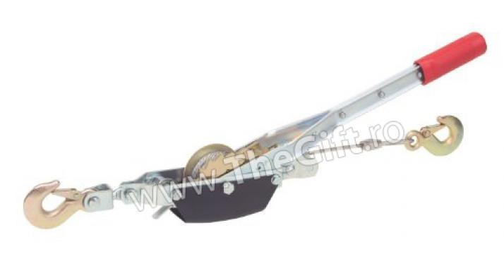 Macara portabila cu clichet, 2 tone de la Thegift.ro - Cadouri Online