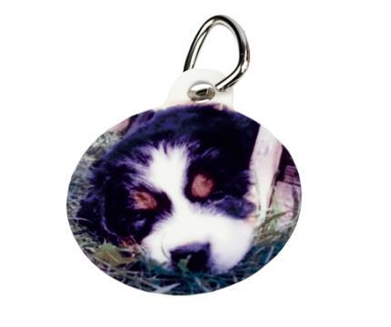 Medalion animale rotund personalizat de la Alconcept Product SRL