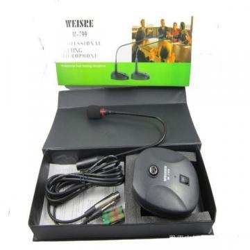 Microfon profesional pentru conferinte cu stativ Weisre M-79