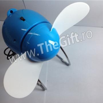 Mini ventilator USB cu unghi ajustabil de la Thegift.ro - Cadouri Online