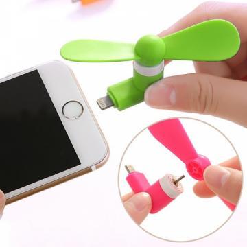 Mini ventilator portabil telefon iPhone 5/5S/6/6+/SE/ iPad de la Www.oferteshop.ro - Cadouri Online