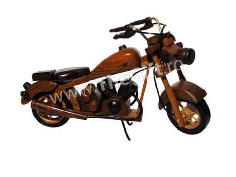 Ornament motocicleta din lemn / metal de la Thegift.ro - Cadouri Online