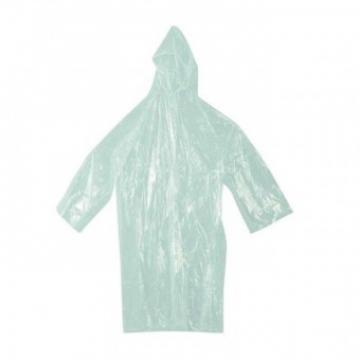 Pelerina ploaie cu gluga, Strend Pro PE, transparenta