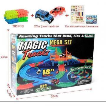 Jucarie Pista luminoasa Magic Tracks 360 piese magic tracks de la Www.oferteshop.ro - Cadouri Online