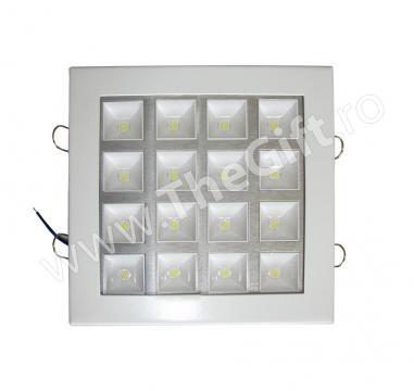 Plafoniera de 16 W cu 16 LED-uri