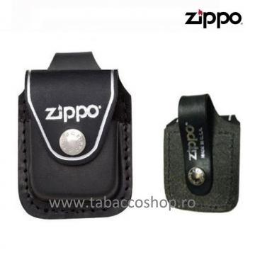 Portbricheta Zippo din piele LPLBK de la Maferdi Srl