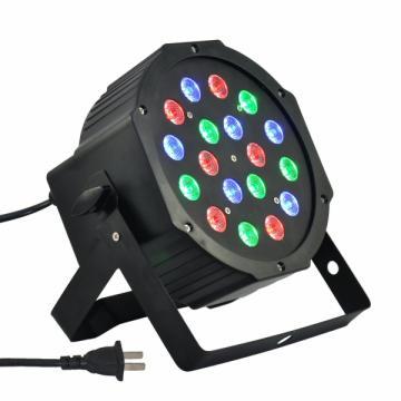 Proiector Par cu efect lumini Led Flat Par Light RGB 1WX18