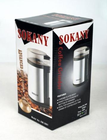 Rasnita electrica pentru cafea 180W Sokany SM-3001 de la Www.oferteshop.ro - Cadouri Online