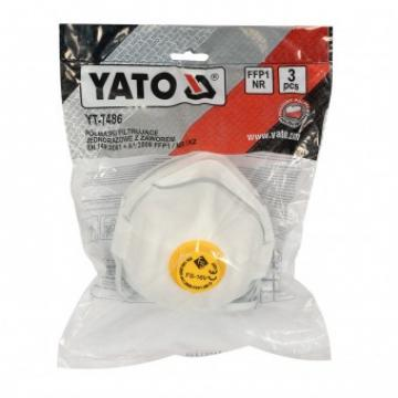 Set 3 masti de praf cu valva Yato YT-7486