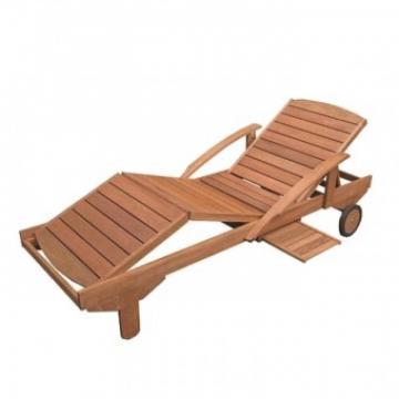 Sezlong lemn Strend Pro Arnake 195x72x33 74 cm, maxim 200 kg de la Viva Metal Decor Srl
