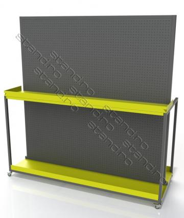 Stand display tabla perforata 1222 de la Rolix Impex Series Srl