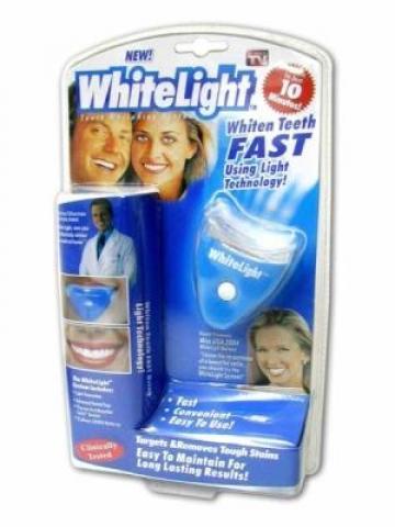 Aparat pentru albit dinti White Light de la Preturi Rezonabile