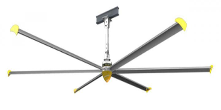 Ventilator de tavan PV7300I Ceiling fan diameter 7320mm de la Ventdepot Srl
