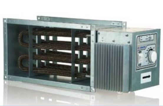 Incalzitor aer electric Controlled Heater NK-U 400x200-9.0-3 de la Ventdepot Srl