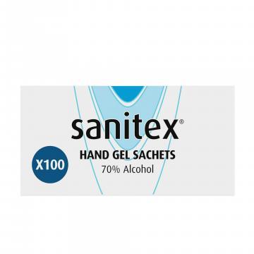 Gel antibacterian Sanitex 70 % alcool 60 ml cu picurator de la Hoba Ecologic Air System Srl