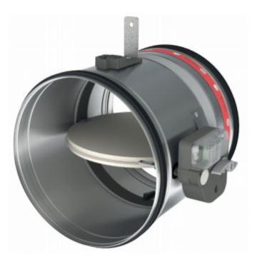 Amortizor circular ignifug 100 CR120+