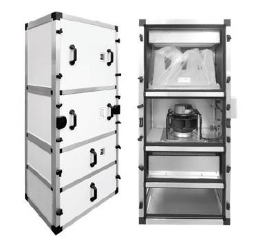 Unitate purificare aer UPA-UV-1500-F9-CG de la Ventdepot Srl