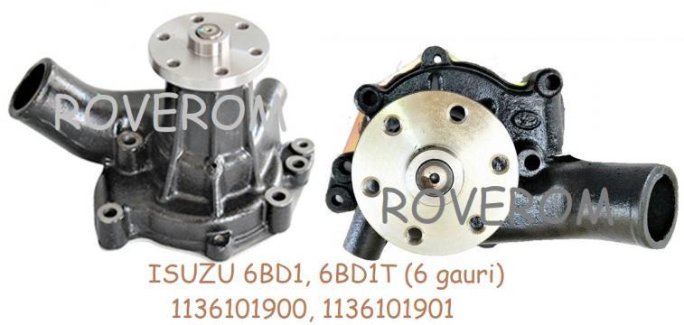 Pompa apa Isuzu 6BD1, 6BD1T, Hitachi EX200-2, EX200-3