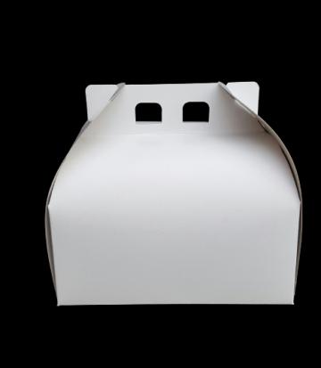 Cutii albe tort CT2 (27x27x16cm) 25 buc/set de la Cristian Food Industry Srl.