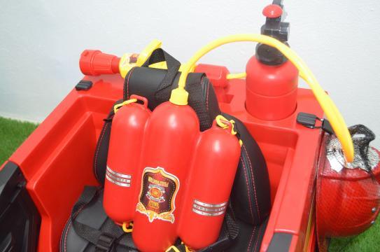 Jucarie Masinuta de pompieri Hollocy FireTruck 2x45W 12V