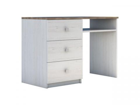 Birou Rares, culoare Ulm/Stejar, 115 CM de la CB Furniture Srl