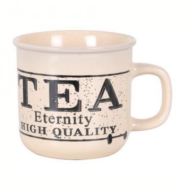 Cana ceramica mare Eternity Tea-450ml de la Plasma Trade Srl (happymax.ro)