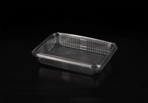 Caserola mini prajituri 1000g capac atasat H38mm 100 buc/set de la Cristian Food Industry Srl.