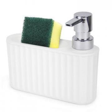 Dispenser sapun lichid cu suport burete vase - Quttin