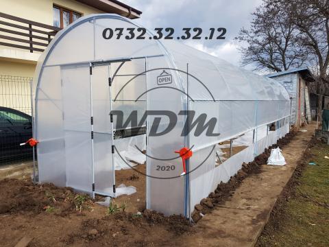 Solarii legume din teava galvanizata 3, 4, 5, 6m de la Wdmania Srl