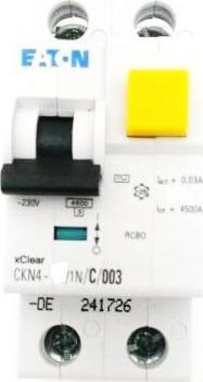 Intrerupator automat diferential 1P+N, 25A Eaton CKN4-25
