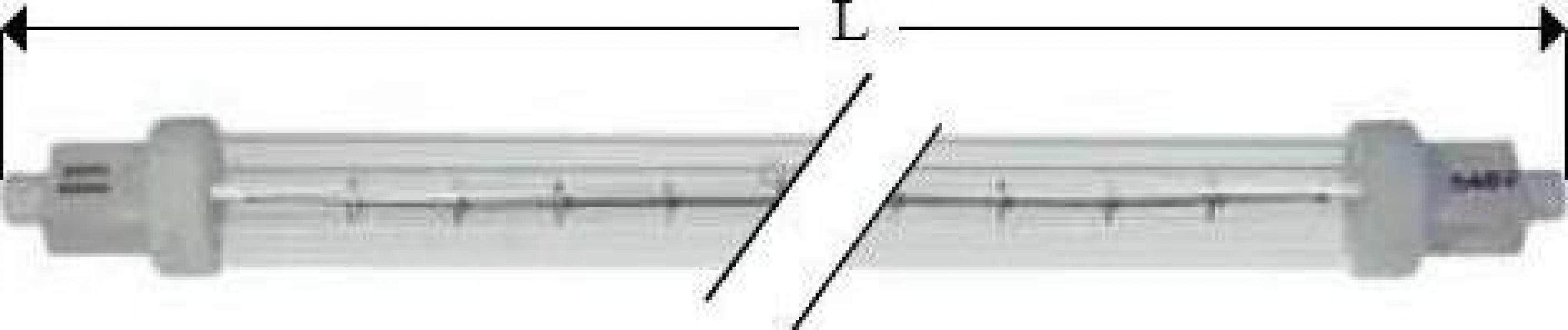 Lampa infrarosu R7s, 240V, 1000W, L349mm 359537