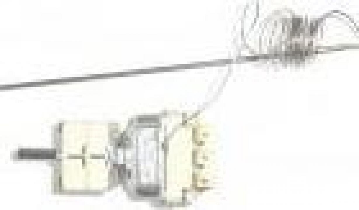 Termostat reglabil trifazic 56-326*C, bulb 3.1x226mm