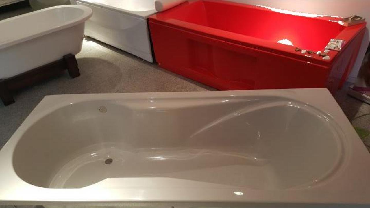 Cada baie gri 180x80 cm