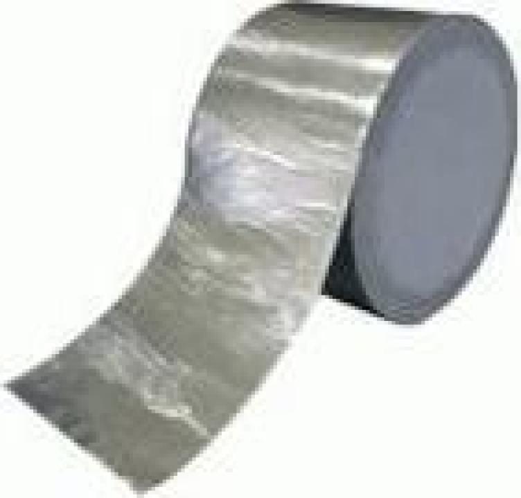 Membrana hidroizolanta 10 cm Isomat Butyl Tape Alu