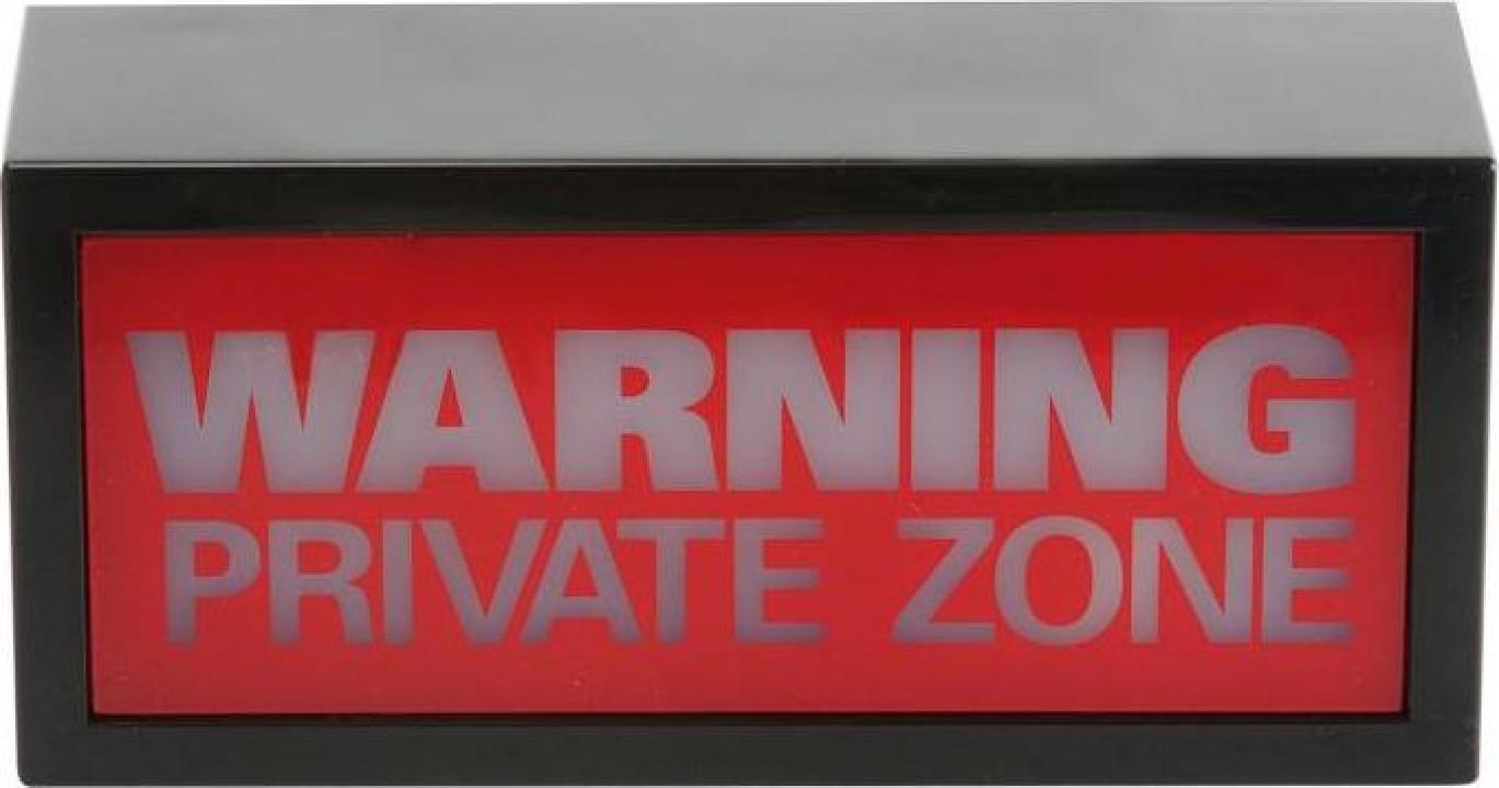 Semnalizator luminos Private Zone