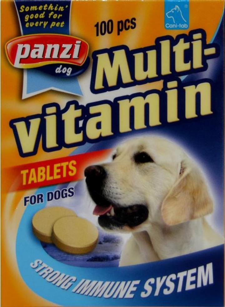 Vitamine catei Multivitamin Panzi